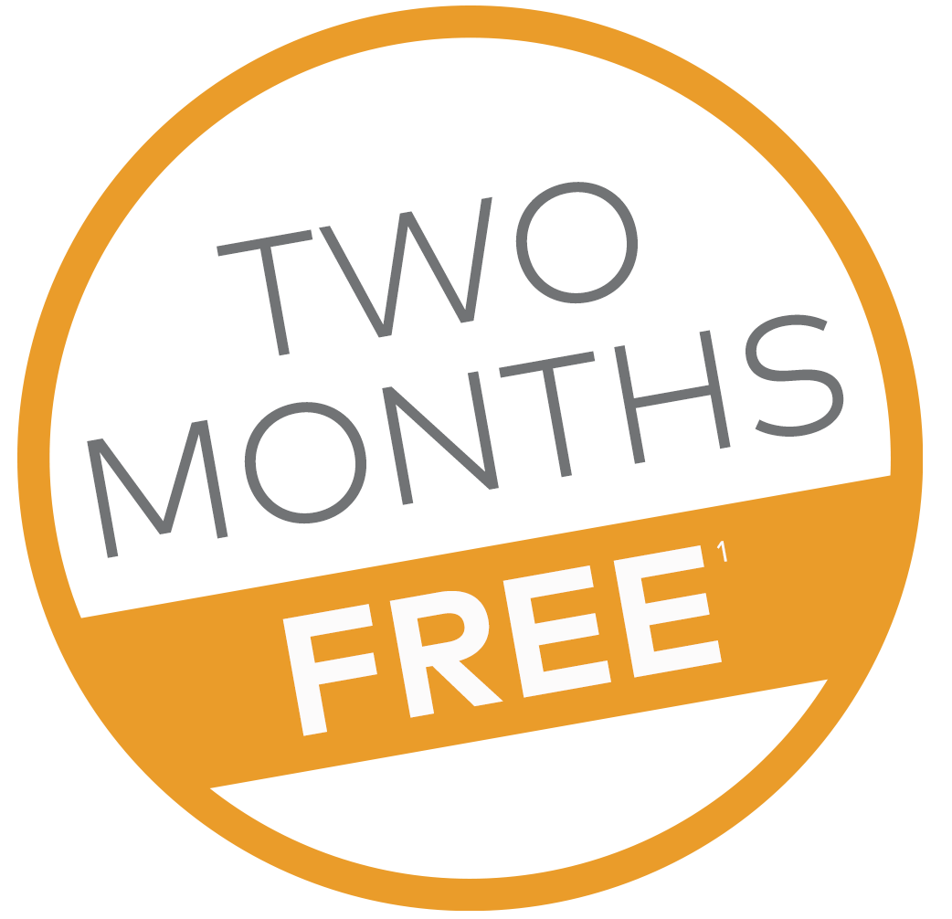 Two months free on a Cinch home warranty plan
