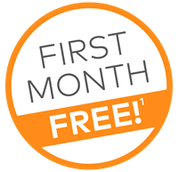 First month free on a Cinch home warranty plan