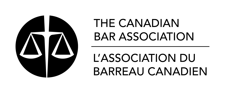 The Canadian Bar association  logo