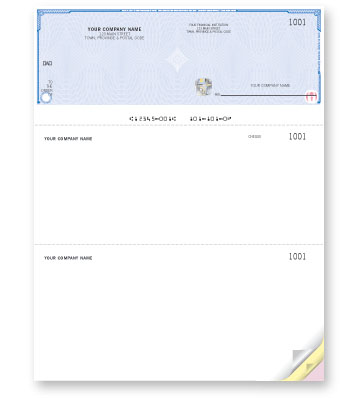 high security business cheques