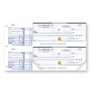 manaual business cheques