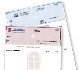 Chèques d'affaires
