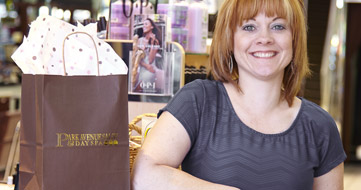 Stacey, Park Ave Day Spa business owner