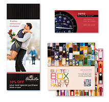 Custom print marketing