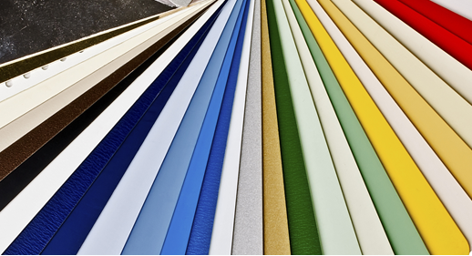 Large selection of vinyl siding colors