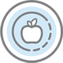 Health benefits icon