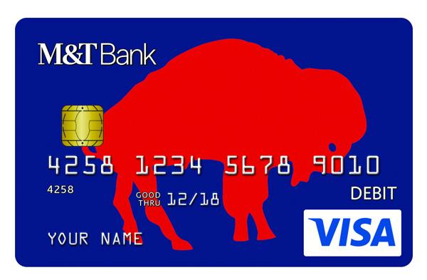 Ravens Debit Card from M&T Bank