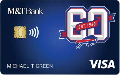 Bills Debit Card from M&T Bank