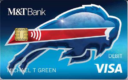 Bills M&T Bank Debit Card