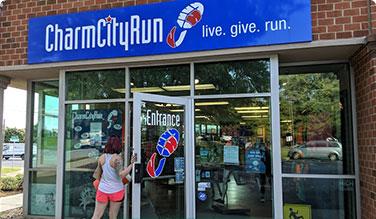 Charm City run storefront