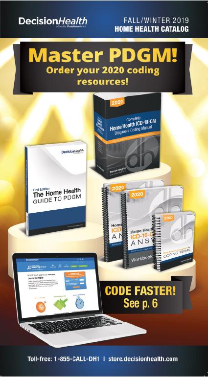 2019 Spring/Summer Home Health Catalog