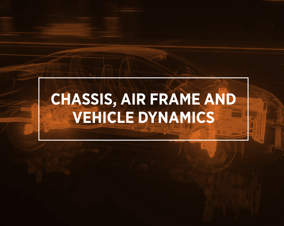 chassis, air frame and vehicle dynamics