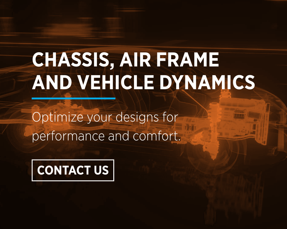 chassis, air frame and vehicle dynamics contact