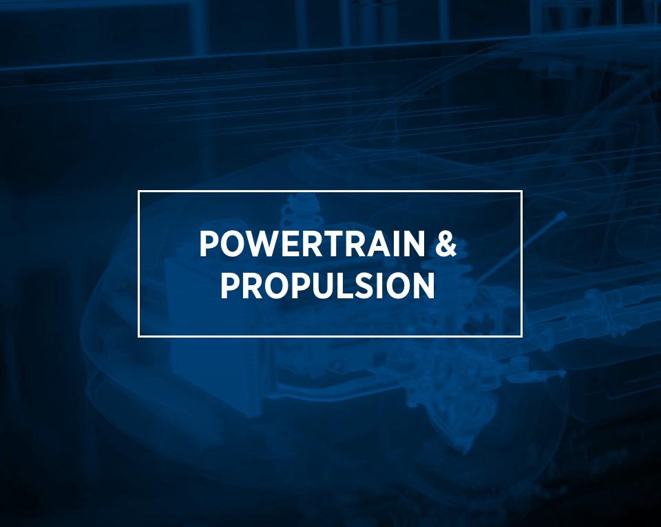 powertrain & propulsion