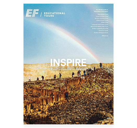 EF Educational Tours Catalogue Cover
