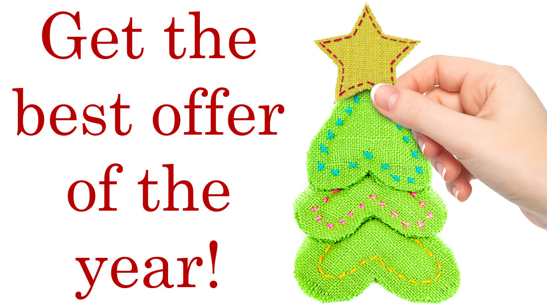 Get the best offer of the year!