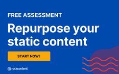 Repurpose your static content